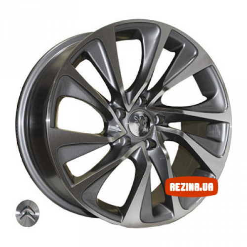 Купить диски Replica Peugeot (Z1011) R17 5x108 j7.5 ET32 DIA65.1 DGMF