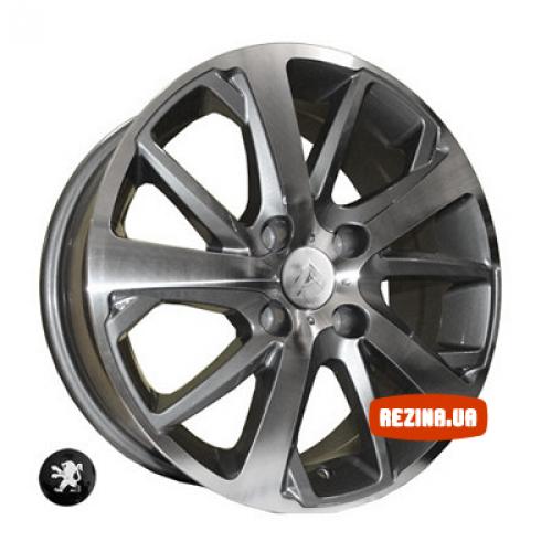 Купить диски Replica Peugeot (Z1039) R16 4x108 j6.5 ET31 DIA65.1 DGMF