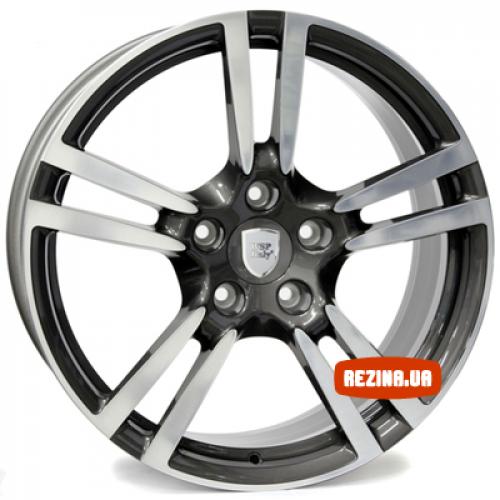 Купить диски Replica Porsche (PO278d) R20 5x130 j9.5 ET50 DIA71.6 MTBS