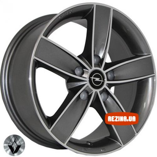 Купить диски Replica Renault (2517) R16 5x118 j7.0 ET38 DIA71.1 MK-P