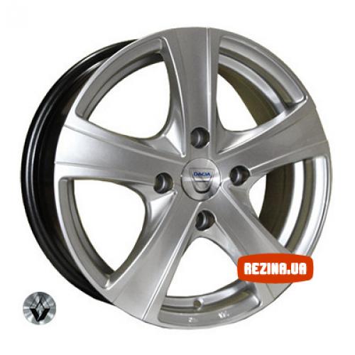 Купить диски Replica Renault (9504) R14 4x100 j5.5 ET43 DIA60.1 HS