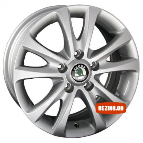 Купить диски Replica Skoda (SK342f) R15 5x100 j6.0 ET38 DIA57.1 HS