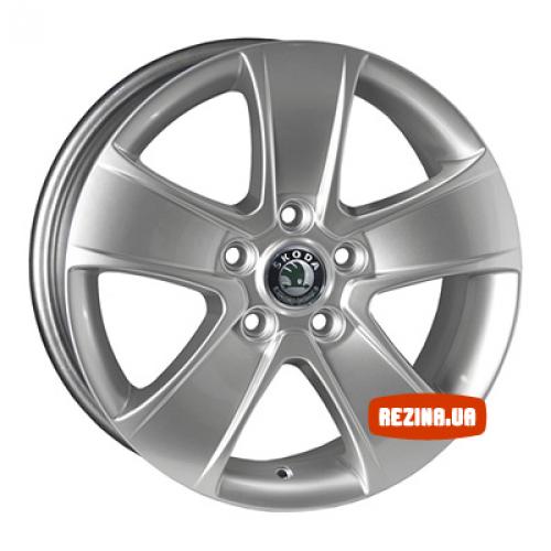 Купить диски Replica Skoda (SK5107d) R16 5x112 j6.5 ET45 DIA57.1 HS