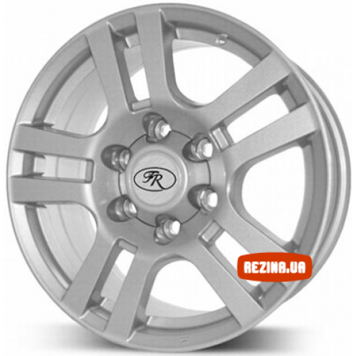 Купить диски Replica Toyota (268) Prado R20 6x139.7 j8.5 ET25 DIA106.2 silver