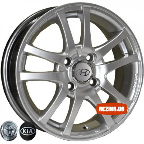 Купить диски Replica Toyota (450) R15 4x100 j6.0 ET43 DIA54.1 HS