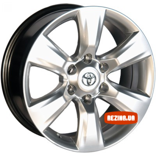 Купить диски Replica Toyota (D272) R18 6x139.7 j7.5 ET25 DIA106.2 HS