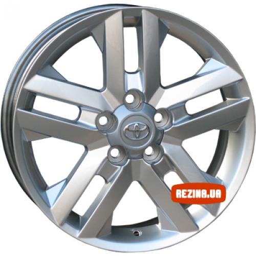 Купить диски Replica Toyota (TY030d) R16 5x114.3 j6.5 ET45 DIA60.1 silver