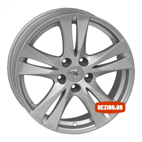 Купить диски Replica Toyota (TY0510e) R17 5x114.3 j7.0 ET45 DIA60.1 silver