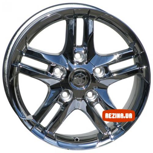 Купить диски Replica Toyota (TY232d) R22 5x150 j9.0 ET40 DIA110.2 Chrome