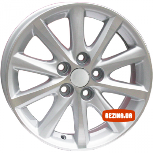 Купить диски Replica Toyota (TY237) R17 5x114.3 j7.0 ET40 DIA60.1 silver