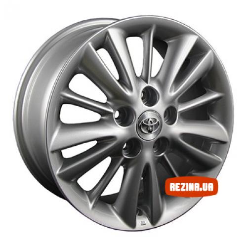 Купить диски Replica Toyota (TY305) R16 5x114.3 j7.0 ET50 DIA60.1 silver