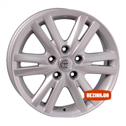 Купить диски Replica Toyota (TY307) R16 5x114.3 j7.0 ET50 DIA60.1 silver