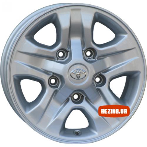 Купить диски Replica Toyota (TY504d) R16 5x150 j8.0 ET2 DIA110.5 silver