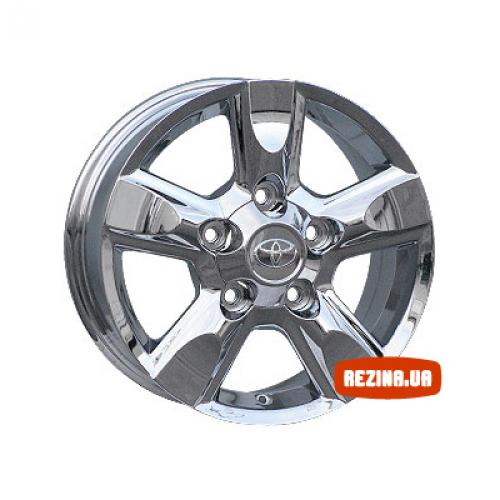 Купить диски Replica Toyota (TY575J) R17 5x150 j8.0 ET60 DIA110.5 Chrome