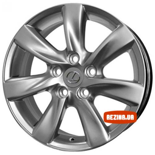 Купить диски Replica Toyota (TY717d) R17 5x114.3 j7.5 ET37 DIA60.1 HS