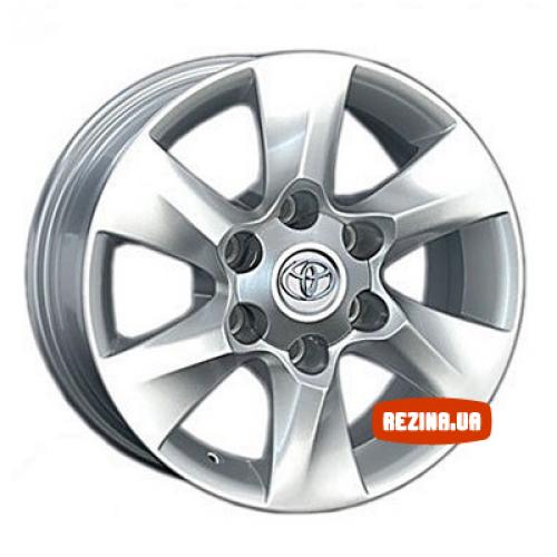 Купить диски Replica Toyota (TY87) R16 6x139.7 j7.0 ET30 DIA106.1 silver