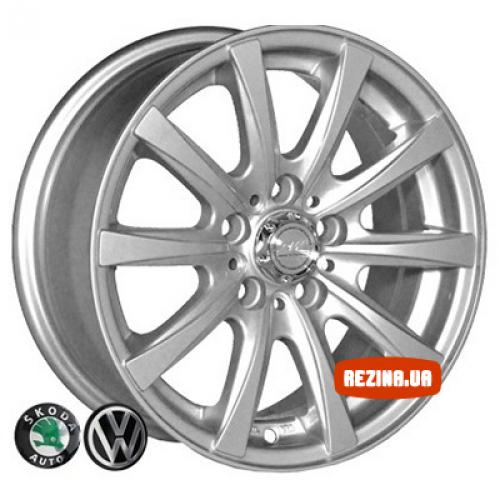 Купить диски Replica Volkswagen (3102) R14 5x100 j6.0 ET35 DIA57.1 silver