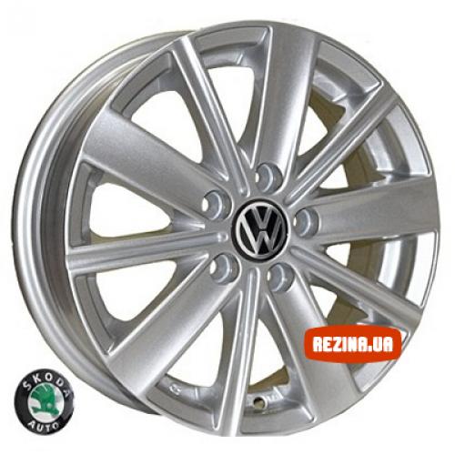 Купить диски Replica Volkswagen (7315) R14 5x100 j5.0 ET35 DIA57.1 silver