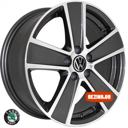 Купить диски Replica Volkswagen (7389) R16 5x100 j6.5 ET45 DIA57.1 MK-P