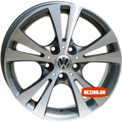 Купить диски Replica Volkswagen (VO485d) R18 5x112 j7.5 ET45 DIA57.1 silver