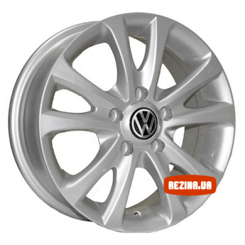 Купить диски Replica Volkswagen (Z180) R15 5x100 j6.0 ET35 DIA57.1 silver
