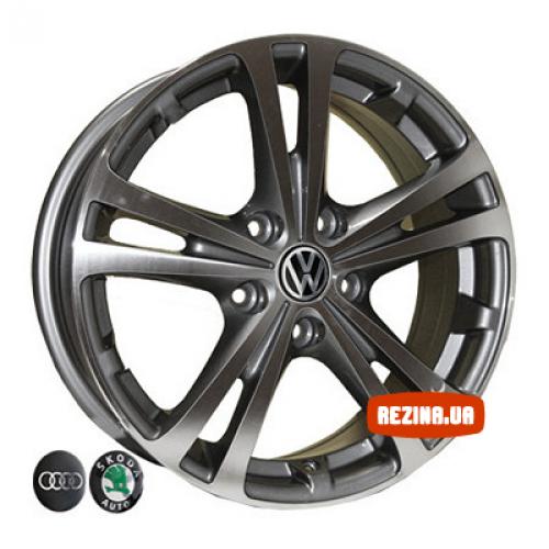 Купить диски Replica Volkswagen (Z616) R16 5x112 j6.5 ET42 DIA57.1 DGMF