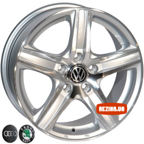 Купить диски Replica VW (610) R15 5x112 j6.5 ET35 DIA57.1 SP