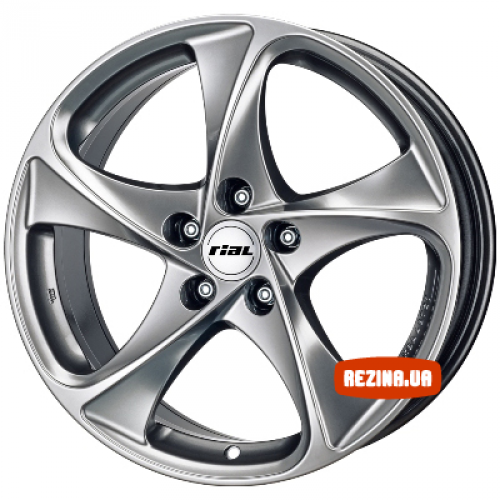 Купить диски Rial Catania R17 5x114.3 j8.0 ET45 DIA70.1 Супер серебро