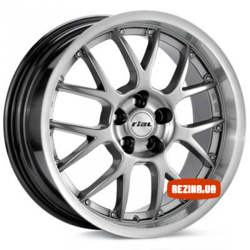 Купить диски Rial Nogaro R17 5x120 j9.0 ET40 DIA72.6 polar silver