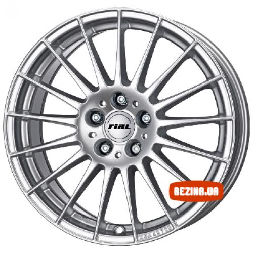 Купить диски Rial Zamora R15 5x100 j7.0 ET38 DIA57.1 silver