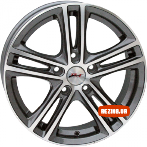 Купить диски RS Wheels 5163TL R13 4x100 j5.5 ET35 DIA56.6 MG
