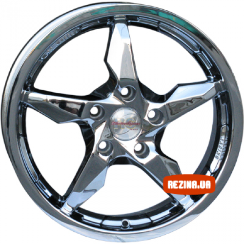 Купить диски RS Wheels 5240TL R16 5x114.3 j6.5 ET40 DIA67.1 Chrome