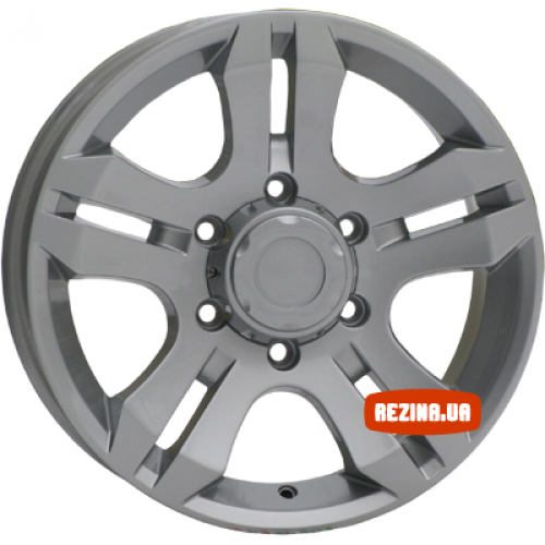 Купить диски RS Wheels 525 R16 6x139.7 j7.0 ET46 DIA67.1 silver