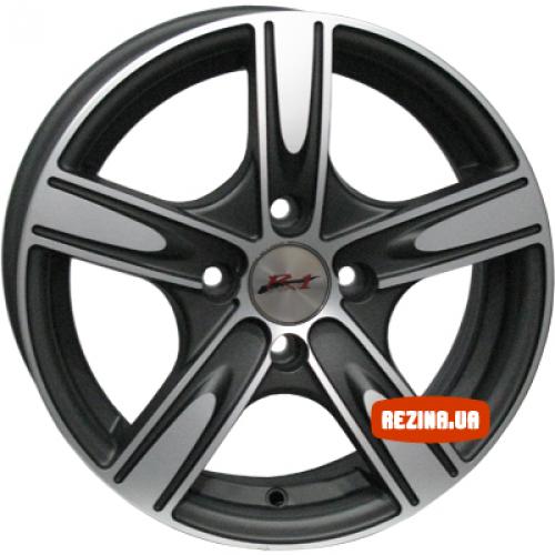 Купить диски RS Wheels 527J R14 4x100 j6.0 ET35 DIA67.1 MCG