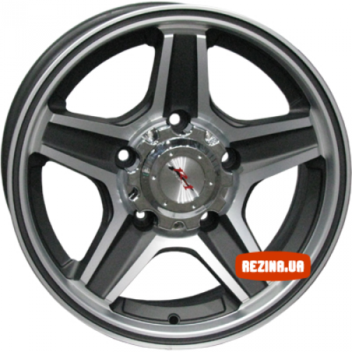 Купить диски RS Wheels 546J R16 5x139.7 j7.0 ET20 DIA98.5 MS