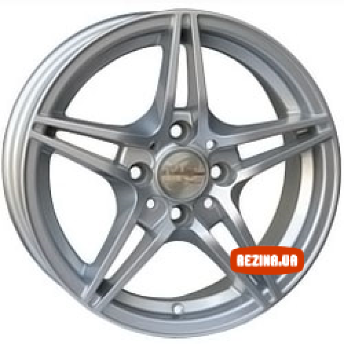 Купить диски RS Wheels 562D R13 4x100 j5.5 ET35 DIA67.1 silver