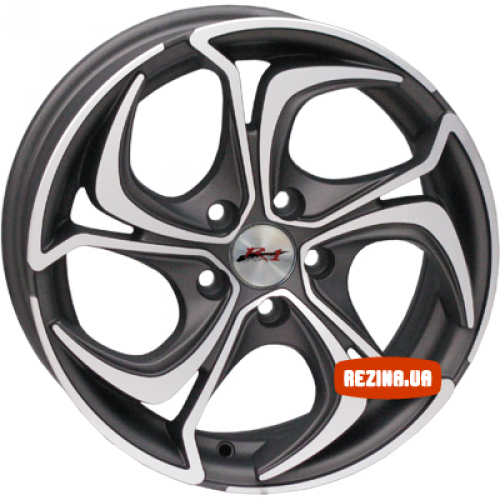Купить диски RS Wheels 586J R16 5x100 j7.0 ET43 DIA67.1 DGM