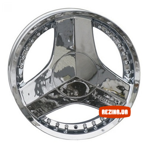 Купить диски RS Wheels 617 R18 4x100 j7.5 ET40 DIA73.1 Chrome