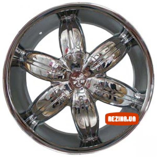 Купить диски RS Wheels 624D R17 5x150 j7.5 ET10 DIA110.5 Chrome