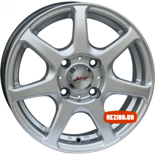 Купить диски RS Wheels 7005 R13 4x114.3 j4.5 ET44 DIA69.1 silver