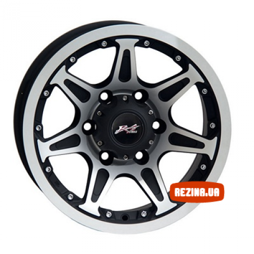 Купить диски RS Wheels 7012d R15 6x139.7 j8.0 ET13 DIA110 MCB