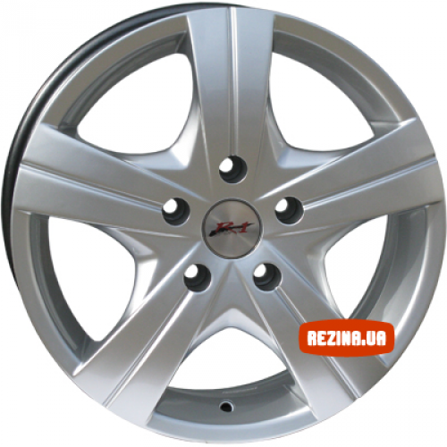 Купить диски RS Wheels 712 R16 5x118 j6.5 ET50 DIA71.1 silver