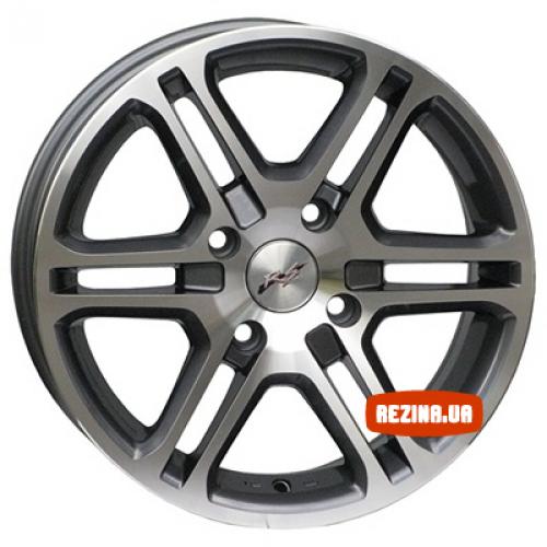 Купить диски RS Wheels 789 R16 4x100 j6.5 ET40 DIA67.1 MG