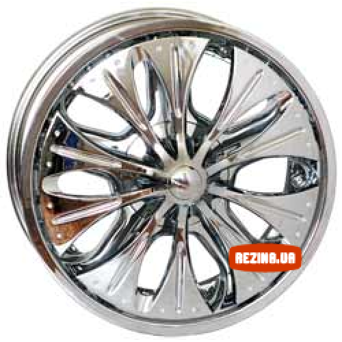 Купить диски RS Wheels 86 R20 6x139.7 j8.5 ET15 DIA108 Chrome