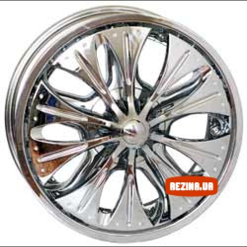 Купить диски RS Wheels 86 R20 6x139.7 j8.5 ET15 DIA108 Chrome