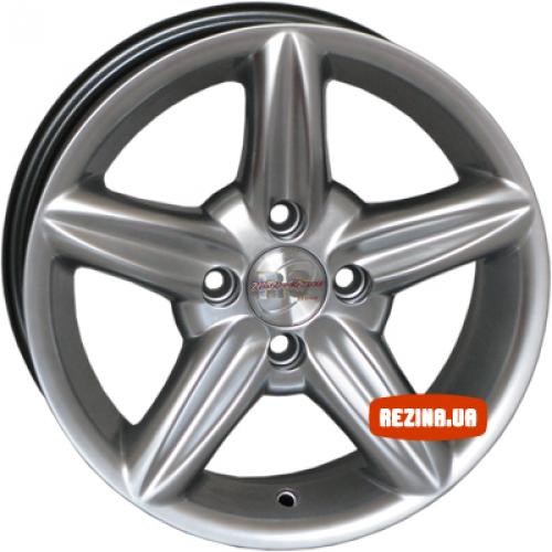 Купить диски RS Wheels 861 R14 4x114.3 j6.0 ET35 DIA73.1 silver