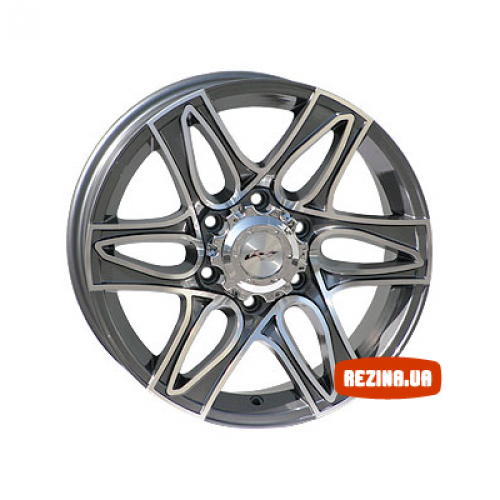 Купить диски RS Wheels RSL 6143TL R17 6x139.7 j7.5 ET35 DIA67.1 MG