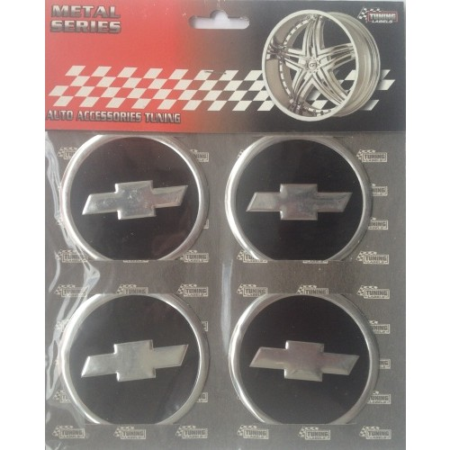 Купить  Комплект эмблем Chevrolet для колпаков
