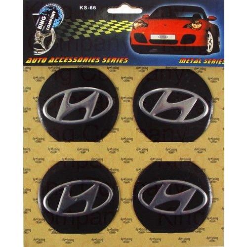 Купить  Комплект эмблем Hyundai для колпаков