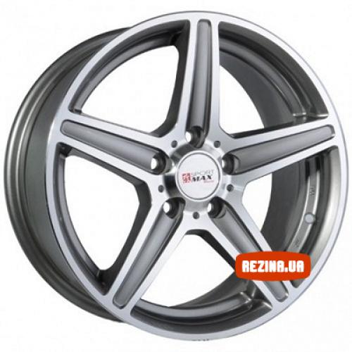 Купить диски Sportmax Racing SR253 R14 4x98 j6.0 ET35 DIA58.6 GSP